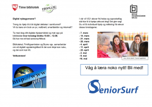 SeniorSurf @ Time bibliotek