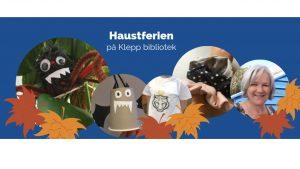 Høstferie på Klepp bibliotek @ Klepp bibliotek
