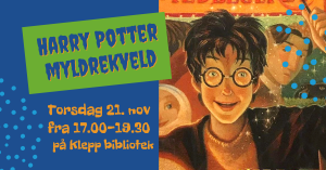 Harry Potter myldrekveld @ Klepp bibliotek