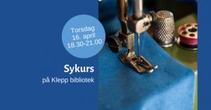 Sykurs @ Klepp bibliotek