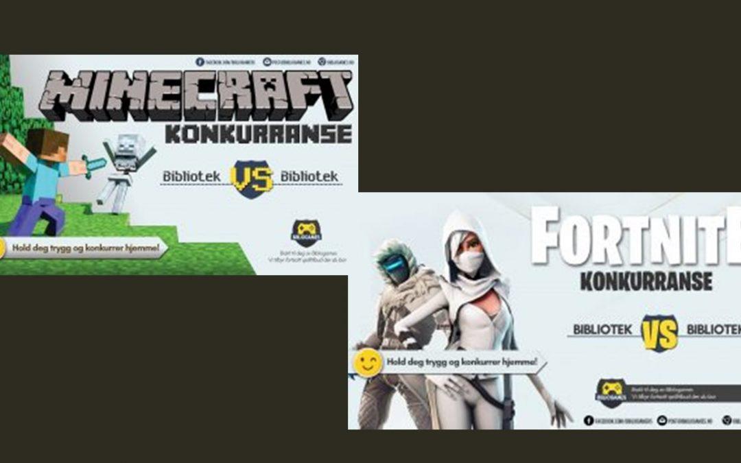 Vi gratulerer vinnerne av Minecraft- og Fortnite-konkurransen i Klepp kommune!